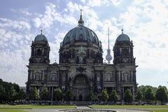 Berlińczyków Dom/Berlińska katedra obraz royalty free