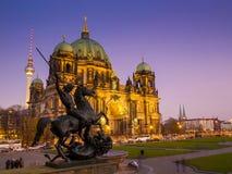 Berlińczyków Dom, Niemcy. (Berlińska katedra) Obraz Royalty Free
