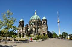 Berlińscy Dom Katedralni zdjęcia royalty free