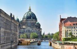Berlińscy Dom Katedralni fotografia stock
