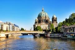 Berlińscy Dom Katedralni obrazy royalty free