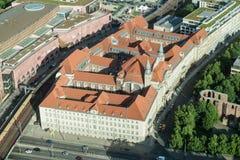 Berlińscy Dziejowi budynki Obraz Royalty Free