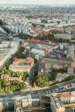 Berlińscy Dziejowi budynki Obrazy Royalty Free