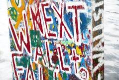 Berlińska ściana Zdjęcia Royalty Free