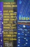 Berlińska ściana Zdjęcia Stock