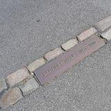 Berlińska ściana 1961-1989 Obrazy Royalty Free