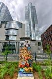 Berlińska ściana - Bruksela, Belgia Obrazy Stock