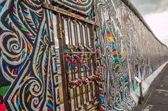 Berlińska ściana Niemcy Obraz Stock
