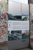 Berlińska ściana - Niemcy Zdjęcia Royalty Free