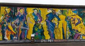 Berlińska ściana w Berlińskim mieście, Niemcy zdjęcia royalty free