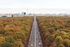 Berlińska jesień Zdjęcie Royalty Free