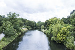 Berlińska natura Parc obraz stock