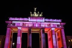 Berliński Festiwal Świateł Zdjęcia Stock