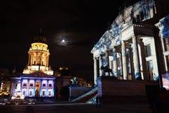 Berliński Festiwal Świateł Fotografia Stock