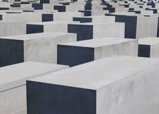 Berliński holokausta pomnik Zdjęcie Royalty Free