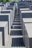Berliński holokausta pomnik Niemcy Fotografia Stock