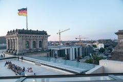 Berliński parlament Zdjęcia Royalty Free