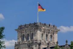 Berliński parlament Niemcy Zdjęcia Stock