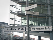 Berliński Potsdamer Platz Fotografia Royalty Free