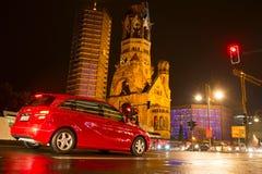 Berliński ruch drogowy zdjęcie stock