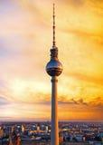 Berliński telewizi wierza zdjęcia stock
