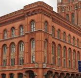 Berliński urząd miasta Zdjęcia Royalty Free