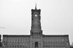 Berliński urząd miasta Zdjęcia Stock