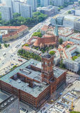 Berliński urząd miasta (Rathaus) zdjęcie royalty free