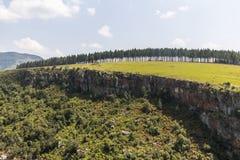 Berlińskich spadków krajobrazowy widok w Południowa Afryka Zdjęcia Royalty Free