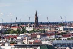 Berlińskiego miasta Dziejowi budynki Fotografia Royalty Free