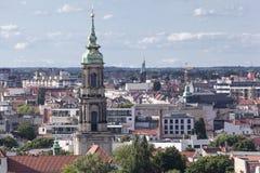 Berlińskiego miasta Dziejowi budynki Zdjęcie Stock