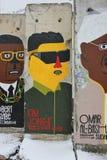 Berlińskiej ściany element Zdjęcie Royalty Free