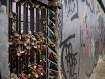 Berlińskiej ściany kędziorki Obraz Stock