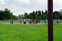 Berlińskiej ściany pomnik fotografia stock
