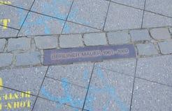 berlińczyk Berlin mauer Germany Zdjęcie Stock