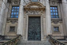 Berlińczyk Dom Drzwiowi Obraz Royalty Free