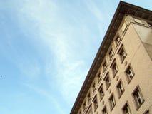 Berlińscy komunistyczni budynki Zdjęcie Stock