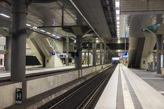 Berlińska centrali stacja w Berlin, Niemcy Obrazy Royalty Free