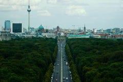 Berlińska linia horyzontu Zdjęcia Royalty Free