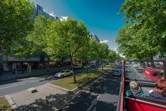 Berlińska ulica Obrazy Royalty Free