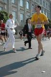 Berliński maraton Zdjęcia Royalty Free