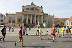 Berliński maraton Fotografia Royalty Free