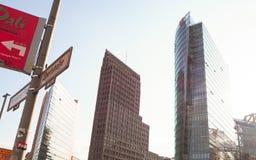 Berliński uliczny widok zdjęcie stock