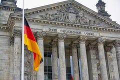 Berlińskie Bundestag parlamentu budynku Niemieckie polityka Niemcy Eur Zdjęcie Royalty Free