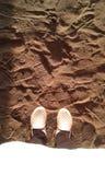 Berlibur di Pantai royaltyfria foton