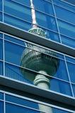 Berlijn? Alexanderplatz Stock Afbeeldingen