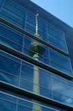 Berlijn? Alexanderplatz Stock Foto's