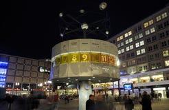 Berlijn bij nacht Royalty-vrije Stock Fotografie