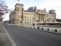Berlijn, Bundestag Royalty-vrije Stock Foto