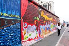 Berlijn - de muur royalty-vrije stock afbeelding